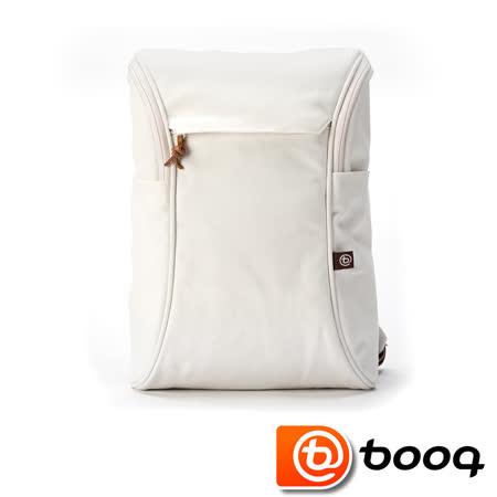 Booq Daypack 經典復古後背包 - 奶油白