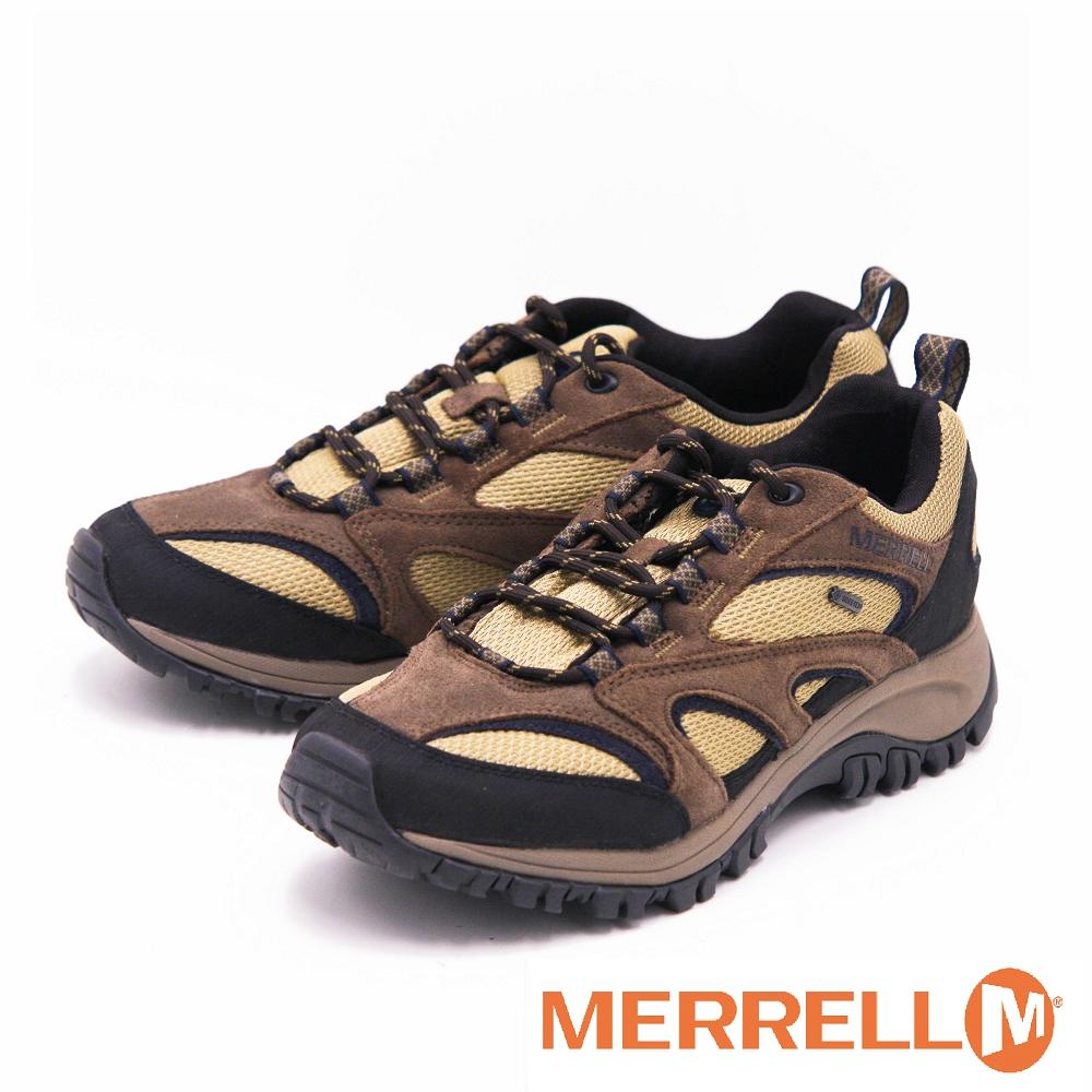 MERRELL MERRELL GORE TEX 戶外防水鞋 女鞋~咖