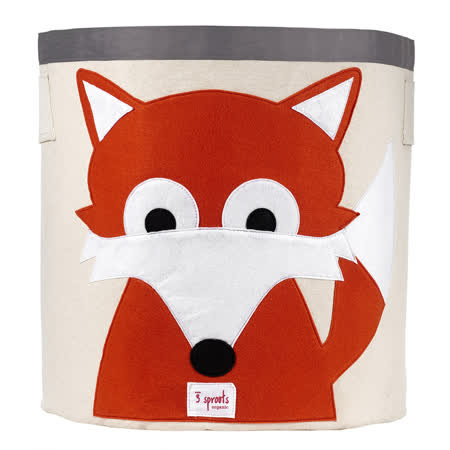 加拿大 3 Sprouts 收納籃-小狐狸