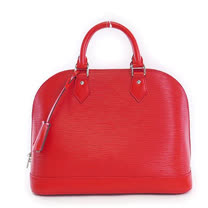 Louis Vuitton LV M41154 ALMA PM EPI水波紋皮革手提艾瑪包.紅_預購