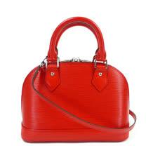 Louis Vuitton LV M41160 ALMA BB EPI 水波紋迷你手提斜背艾瑪包.紅_預購