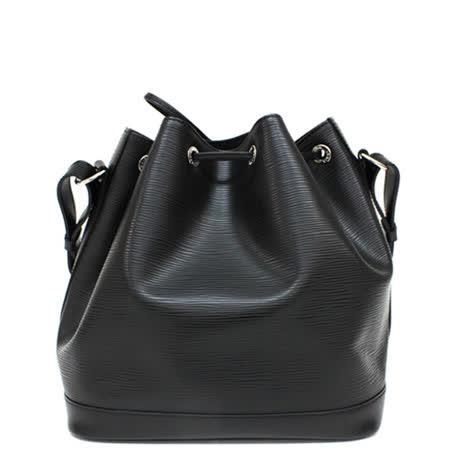Louis Vuitton LV M40752 Petit Noé NM EPI水波紋皮革束口水桶包.黑_預購