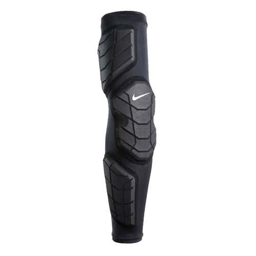 NIKE 防撞型左臂套 - 運動護具 籃球護臂 袖套 大 遠 百 台中 週年 慶護肘 黑白 S