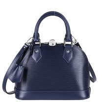 Louis Vuitton LV M40855 ALMA BB EPI 水波紋迷你手提斜背艾瑪包.靛藍_預購