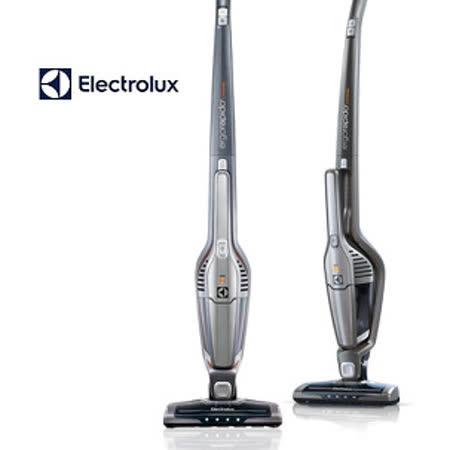 買就送【Electrolux 伊萊克斯】第六代完美管家二合一無線吸塵器(鋼鐵灰)ZB3113(彈性軟管+扁平長夾縫吸頭+桌墊)