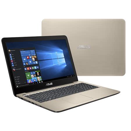 【ASUS華碩】K556UQ 霧面金 15.6吋FHD  i5-6200U 4G記憶體 128GSSD+1TB硬碟 NV940MX 2G獨顯 效能雙碟筆電-贈4記憶體+散熱座+滑鼠墊+清潔組