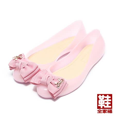 (中大童) RED ANT JELLY防水果凍娃娃鞋 粉 鞋全家福