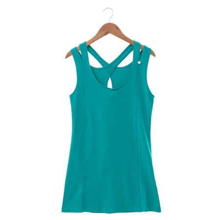 Shelter Q 棉上衣-藍綠
