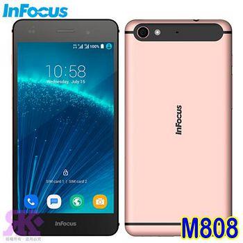 Infocus M808(32G) 5.2吋八核雙卡智慧手機 玫瑰金