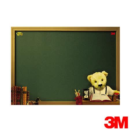 3M 利貼可再貼備忘版大型熊熊系列