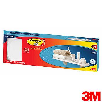 3M 無痕衛浴收納系列(置物層板架)-17628B