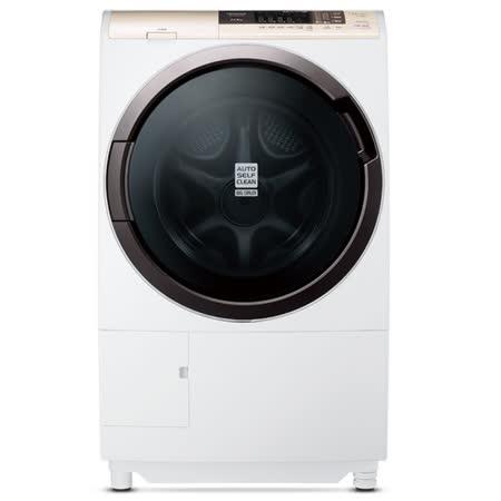 日立HITACHI 11公斤 風熨斗 滾筒式洗脫烘洗衣機 SFSD2100A (左開)