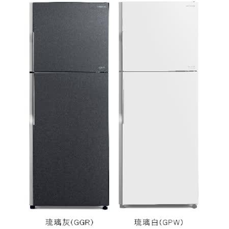 【HITACHI日立】381公升變頻雙門冰箱 RG399