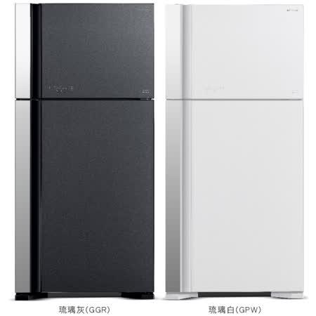 【HITACHI日立】570公升變頻雙門冰箱 RG599