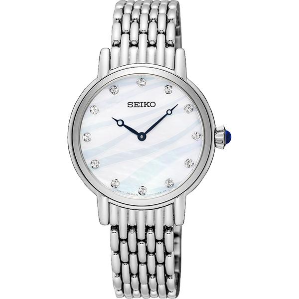 SEIKO 精工 海洋之心晶鑽女錶~29mm 7N00~0BL0S^(SFQ807P1^)