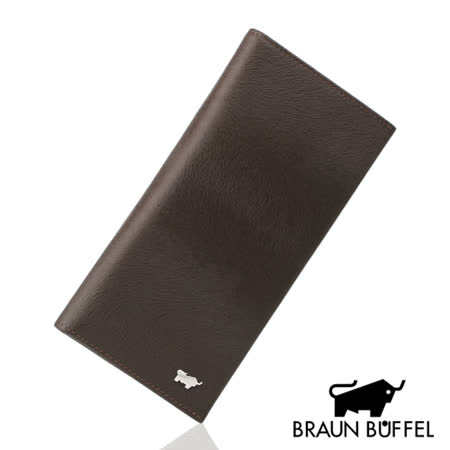 BRAUN BUFFEL 提貝里烏斯系列15卡長夾(咖啡色)BF166-342LD-SL