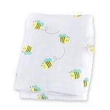 加拿大lulujo嬰兒包巾-小蜜蜂