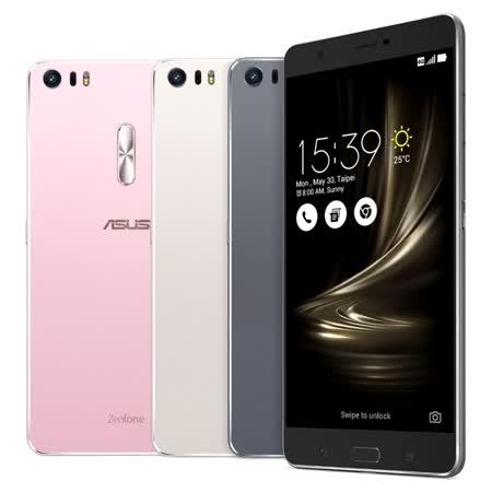 AS愛 買 板橋US ZenFone 3 Ultra (ZU680KL) 4G/64G 雙卡智慧手機-銀色◆贈5200mAh行動電源