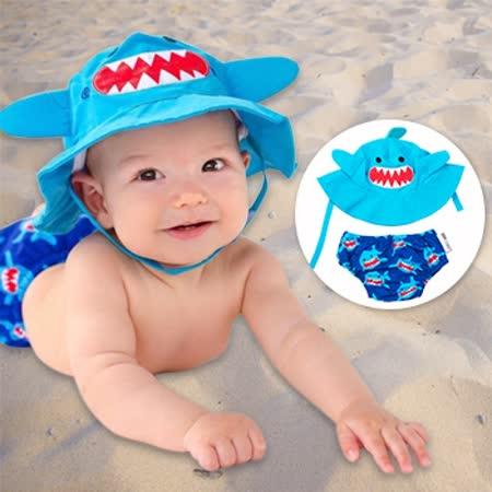 ZOOCCHiNi 可愛動物泳裝套組-鯊魚