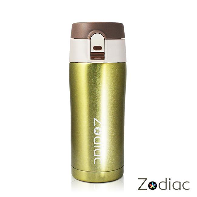 Zodiac諾帝亞 ^#316不銹鋼彈蓋式真空保溫瓶350ml^(ZOD~MS0202^)