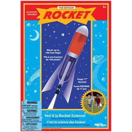 美國Scientific Explorer 發現科學-流星火箭實驗組