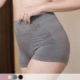 【玉如阿姨】伸縮自如無縫褲。透氣-舒適-四角褲-防捲-中腰內褲-4色 MIT-台灣製。※K038