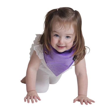 【Mum 2 Mum】機能型神奇三角口水巾咬咬兜-紫