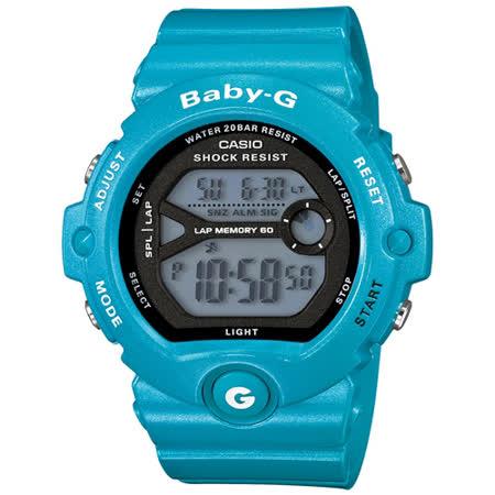 CASIO 卡西歐 Baby-G慢跑甜心運動時尚腕錶45mm/ BG-6903-2