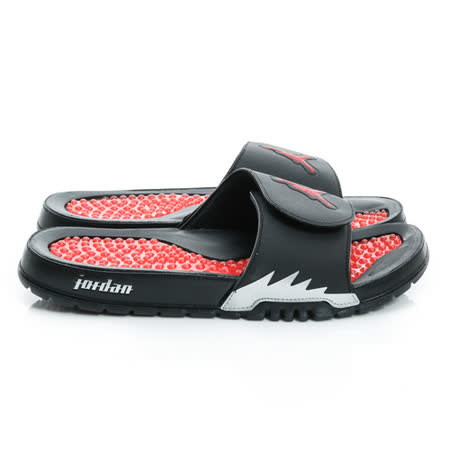 NIKE (男) 拖鞋 黑/紅 555501012