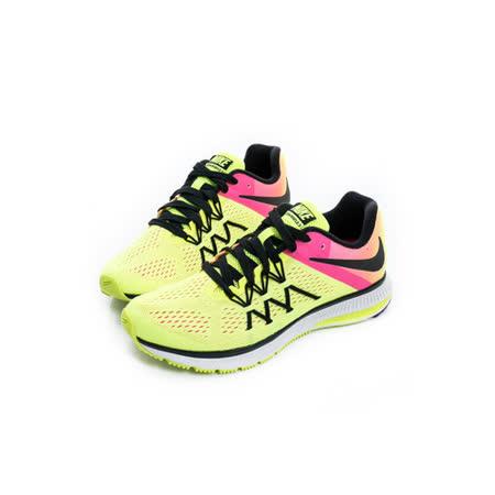 NIKE (女) 慢跑鞋 黃粉橘 844742999