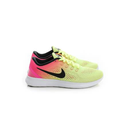 NIKE (女) 慢跑鞋 綠粉 844630999