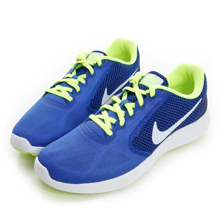 NIKE (男) 慢跑鞋 藍黃白 819300403