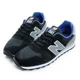 New Balance 男鞋 經典復古鞋 黑灰藍 ML373GB