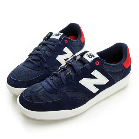New Balance (男女) 經典復古鞋 藍白紅 CRT300GB