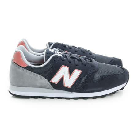 New Balance (女) 經典復古鞋 黑粉白 WL373NP