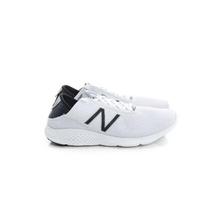 New Balance (男) 慢跑鞋 白黑 MCOASAP2