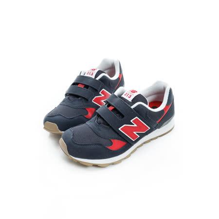 New Balance (大童) 復古慢跑鞋 紅藍 K313BRP