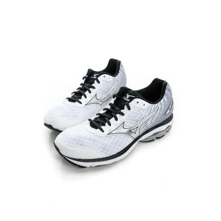 MIZUNO (男) 慢跑鞋 銀白 J1GC160319