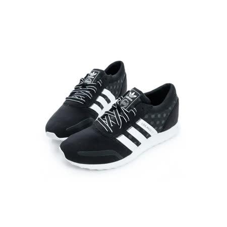 Adidas (女) 經典復古鞋 黑/白 S79758