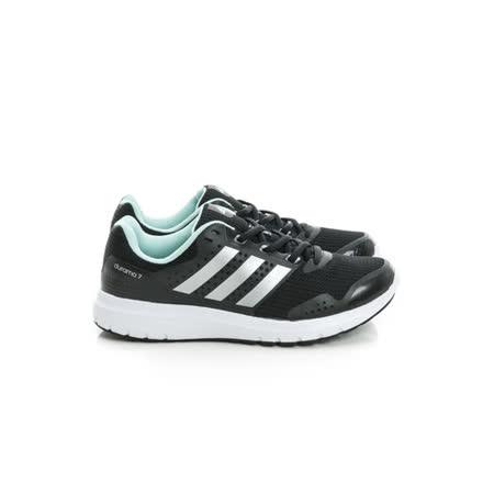 Adidas (女) 慢跑鞋 黑湖綠 AQ6500