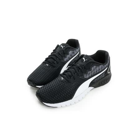 PUMA (男) 慢跑鞋 黑白 18909403