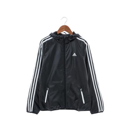 Adidas(女)連帽外套 黑AY4036