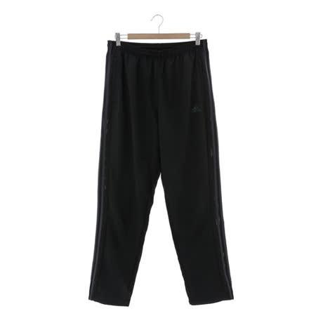 Adidas(男)運動棉長褲 黑AJ5577