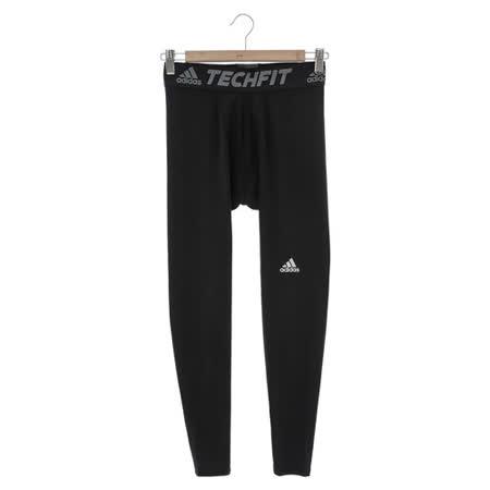 Adidas男 緊身長褲 黑AI3370