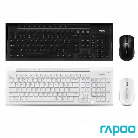 Rapoo 雷柏8200P 5G無線光學鍵鼠組