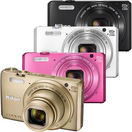 Nikon COOLPIX S7000 20倍光學變焦機(公司貨)~送16G高速卡+專用電池+專用座充+原廠皮套+4好禮