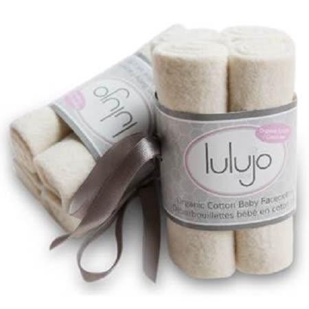 加拿大lulujo嬰兒有機洗澡巾-米色(4入組)