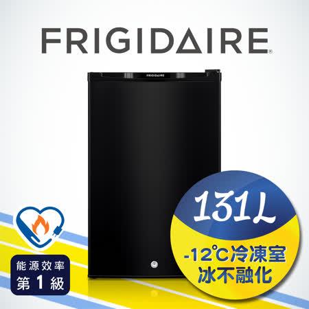 美國富及第Frigidaire 131L超低溫單門冰箱 黑色 FRT-1313M (全新福利品)