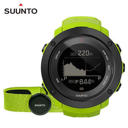 SUUNTO Ambit3 Vertical HR精準高度多項目運動GPS腕錶