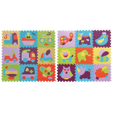 【BabyTiger虎兒寶】MIT 遊戲爬行地墊-魔術方塊系列 任選2件